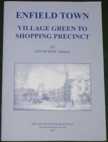 Enfield Town - Village Green to Shopping Precinct, by David Pam